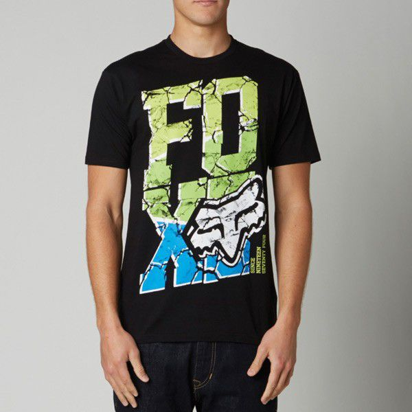 FOX T-Shirt: Tiltonic, schwarz