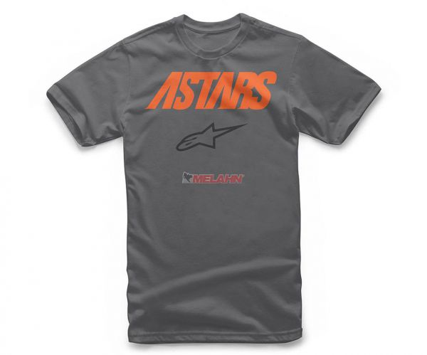 ALPINESTARS T-Shirt: Angle Combo, grau/orange