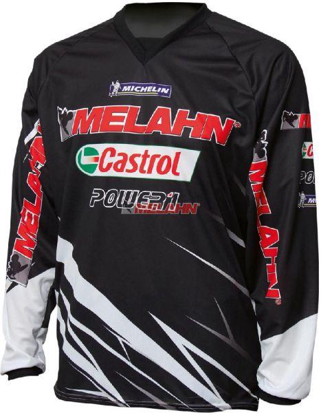 MELAHN Hemd: MX, schwarz