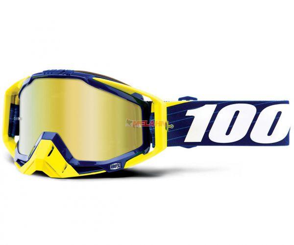 100% Brille: Racecraft Bilal/Navy, navy/neongelb