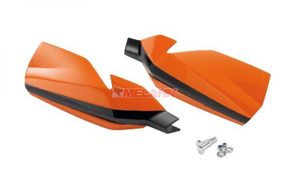 KTM Handprotektoren (Paar): MX II, orange/schwarz