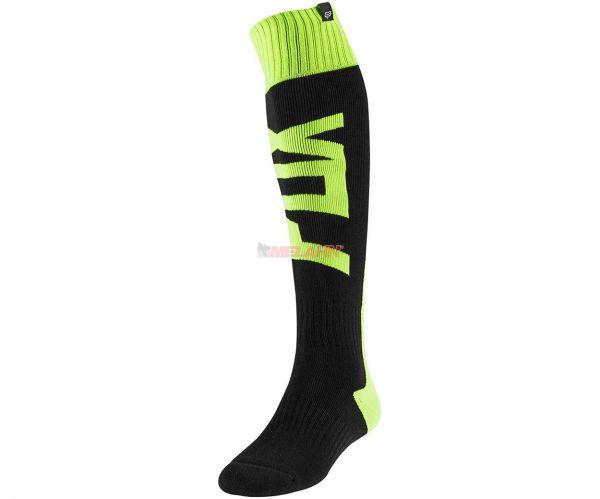 FOX Socke (Paar): FRI Thick FYCE, gelb/schwarz