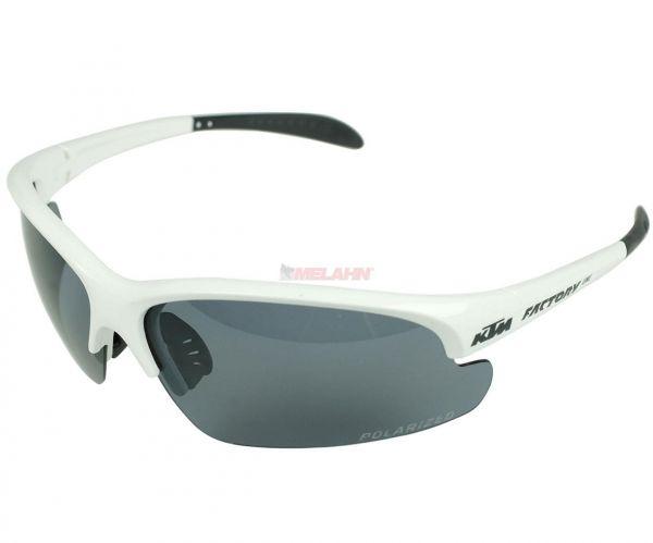 KTM Sonnenbrille: Line polarisiert, weiß