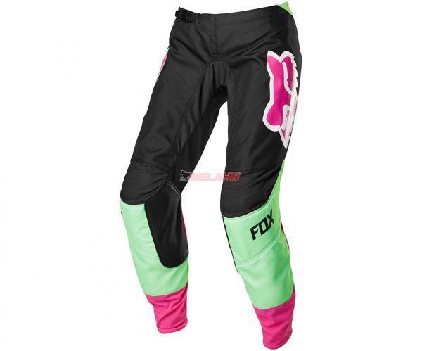FOX Girls Hose: 180 FYCE, schwarz/pink/grün