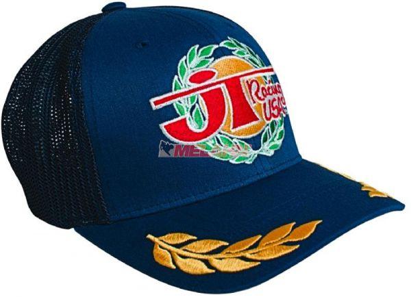 JT-RACING Trucker Cap: Victory, blau