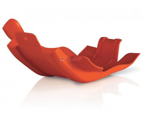 ACERBIS Kunststoff-Motorschutz groß, orange, 250 14-16 / 350 EXC-F 12-16