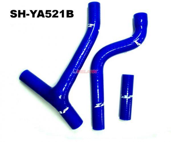 ZAP Kühlerschlauch-Set YZF 250 10-13, blau