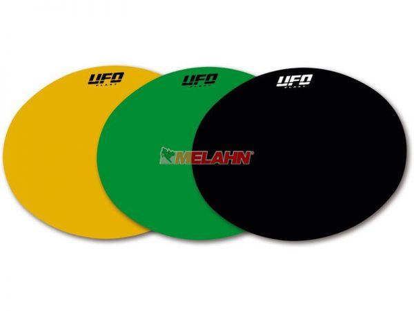 UFO Classic-Starttafelfolie rund, schwarz