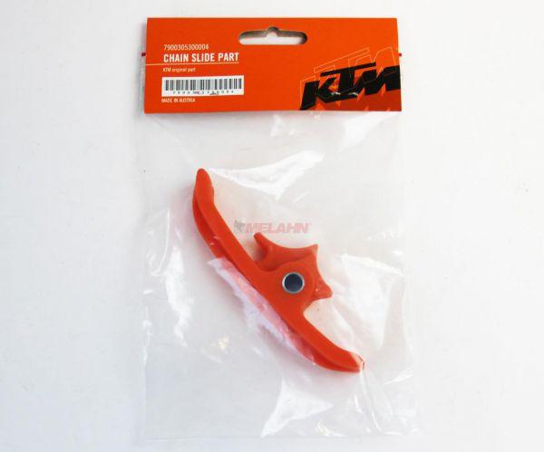 KTM Kettengleitstück unten, orange, SX 16- / EXC 17-