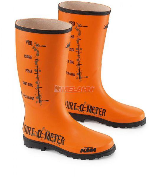 KTM Gummistiefel: Dirt-O-Meter, orange