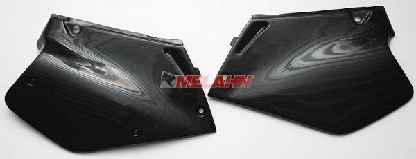 UFO Seitenteile (Paar) CR 125/250 95-97, weiß