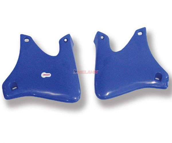 POLISPORT Spoiler (Paar) Kühlerverkleidung, YZF 250 01-02 / 426 00-02, blau