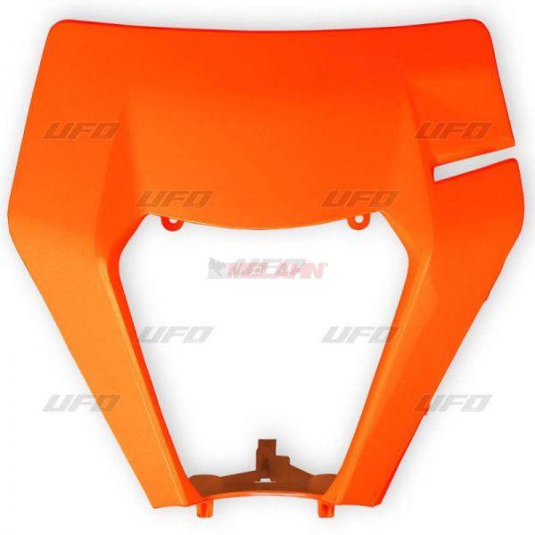 UFO Lampenmaske ohne Scheinwerfer KTM EXC 2017-, orange