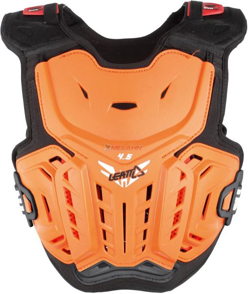 LEATT Kids Brustpanzer: 4.5 Junior, orange, Gr. L/XL
