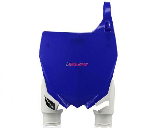 ACERBIS Starttafel: Raptor, blau/weiß, YZF 250 10-18 / 450 10-17