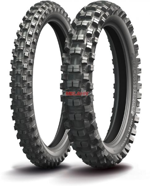 MICHELIN Reifen: Starcross 5 Medium 100/90-19