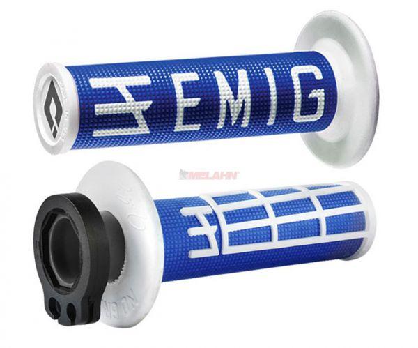 EMIG Griff (Paar): V2 Lock On, 2/4-Takt , blau