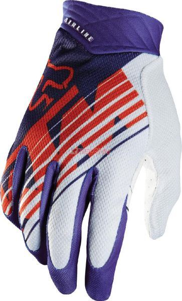 FOX Handschuh: Airline KTM, orange/purple