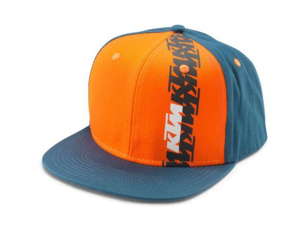 KTM Cap: Radical, blau/orange