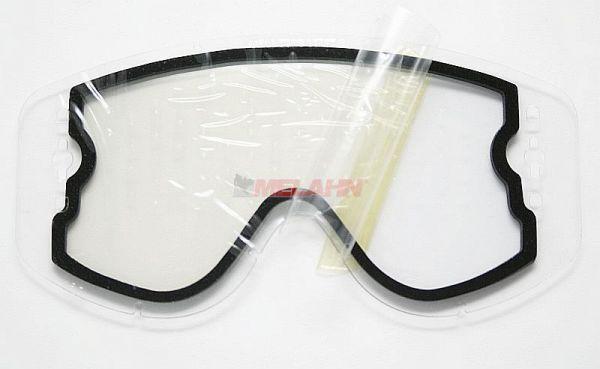 SCOTT Doppel-Glas WORKS no-stick Recoil/80er, klar