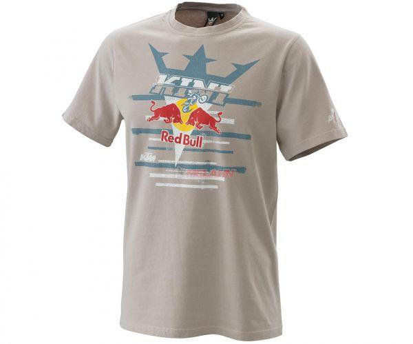 KINI-Red Bull T-Shirt: Steps, grau