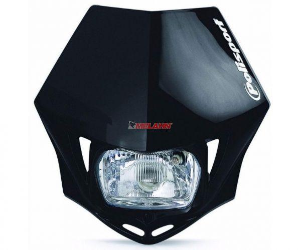 POLISPORT Lampe: MMX, schwarz