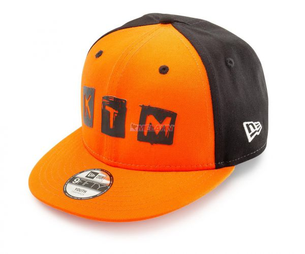 KTM Kids-Cap: Radical, orange/schwarz