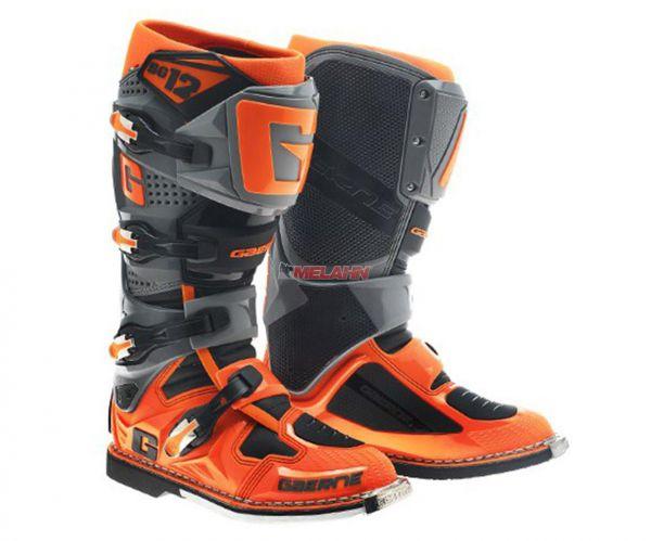 GAERNE Stiefel: SG 12, grau/orange