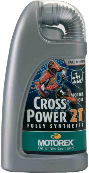 MOTOREX Cross Power 2T 1l, vollsynthetisches Mischöl