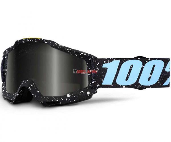 100% Brille: Accuri Milkyway, schwarz/hellblau/weiß