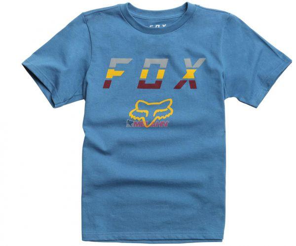 FOX Youth T-Shirt: Smoke Blower, blau