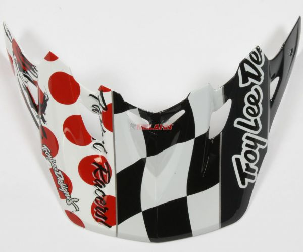 TROY LEE DESIGNS Helmschirm: Visor SE2 Day in the Dirt