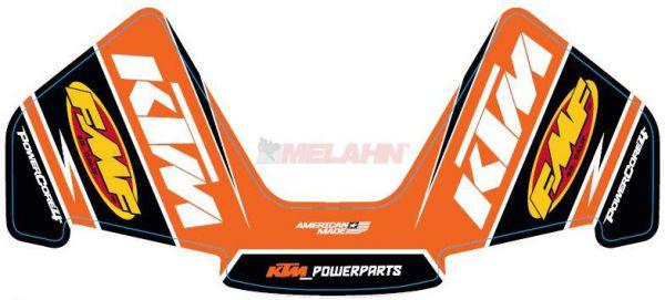 FMF Aufkleber Powercore 4-Takt, orange