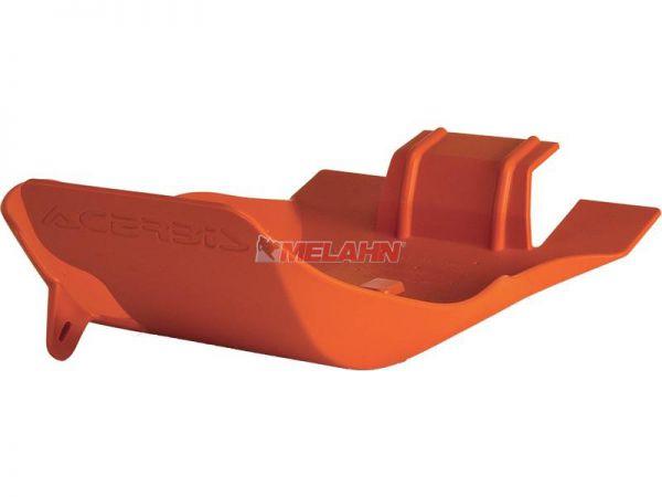 ACERBIS Kunststoff-Motorschutz groß, orange, 250/300 EXC 06-16