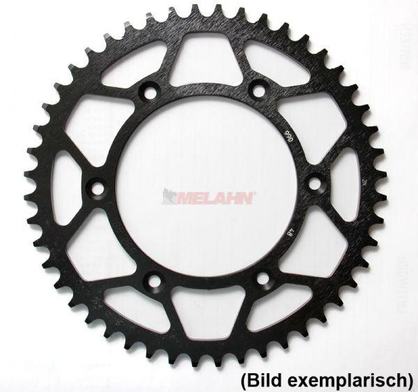 MT Stahl-Kettenrad Suzuki DR/RM/RMZ, schwarz