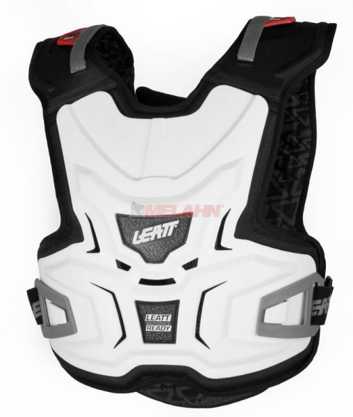 LEATT Kids Brustpanzer: Body Vest Adventure Lite, weiß