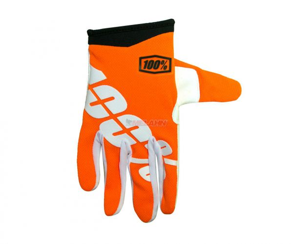 100% Kids Handschuh: I-Track, orange