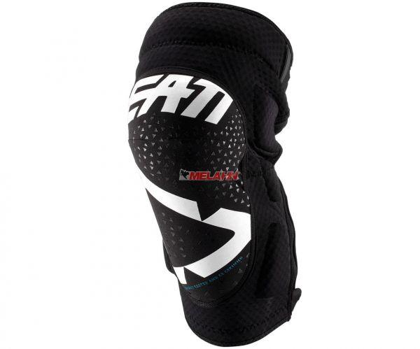 LEATT Knieprotektor (Paar): 3DF 5.0 Zip, schwarz/weiß
