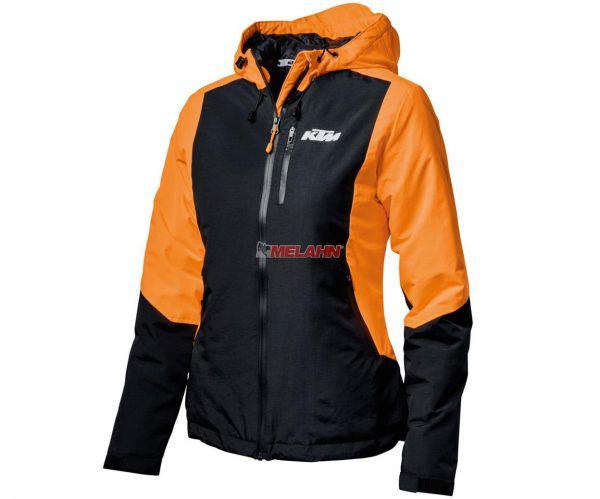KTM Girls Jacke: Orange, orange/schwarz
