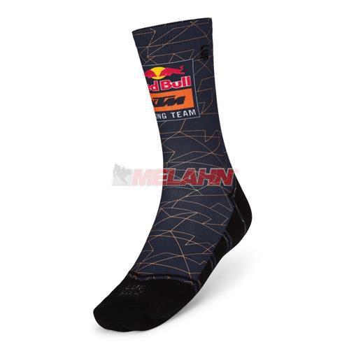 RED BULL KTM Socke: Racing Team Socks, navy/orange