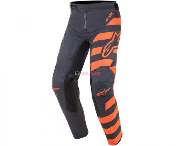 ALPINESTARS YOUTH Hose: Racer Braap, grau/orange