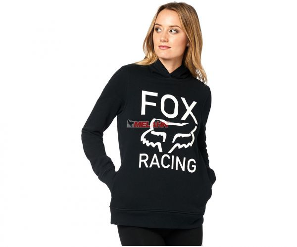 FOX Girls Hoody: Established, schwarz