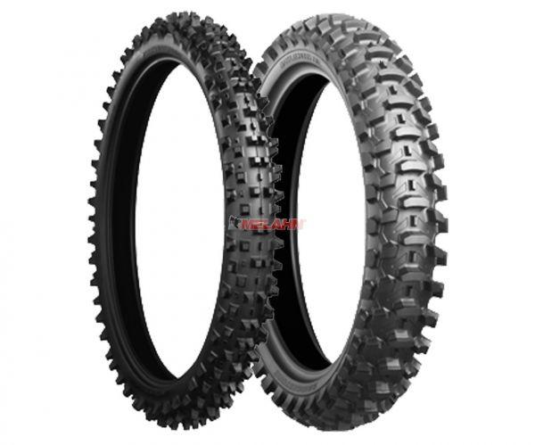 BRIDGESTONE Reifen: X10 80/100-21