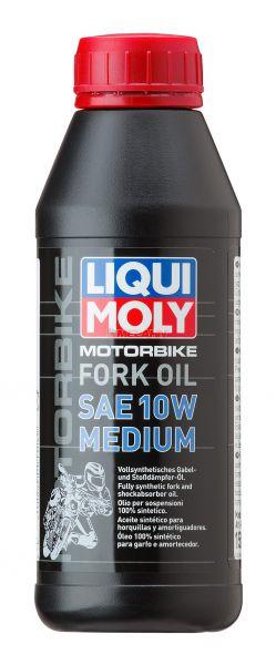 LIQUI MOLY Gabeöl: Motorbike Fork Oil 10W medium, 1l