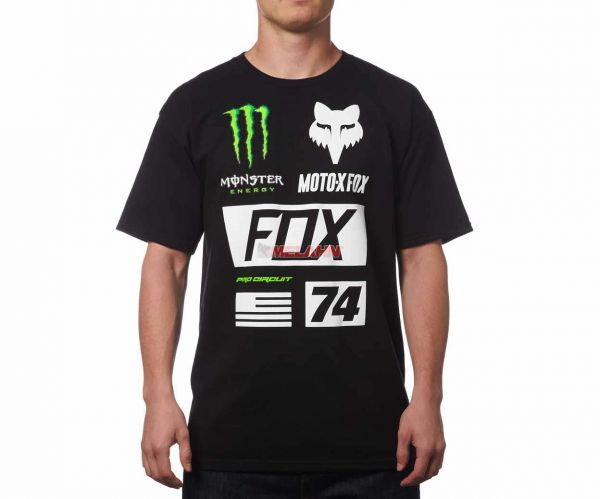 FOX T-Shirt: Monster Union Collection, schwarz