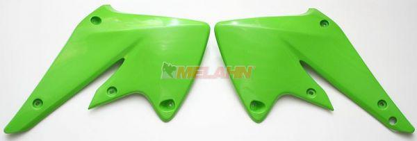 UFO Spoiler (Paar) Kühlerverkleidung KXF 250 04-05, grün05