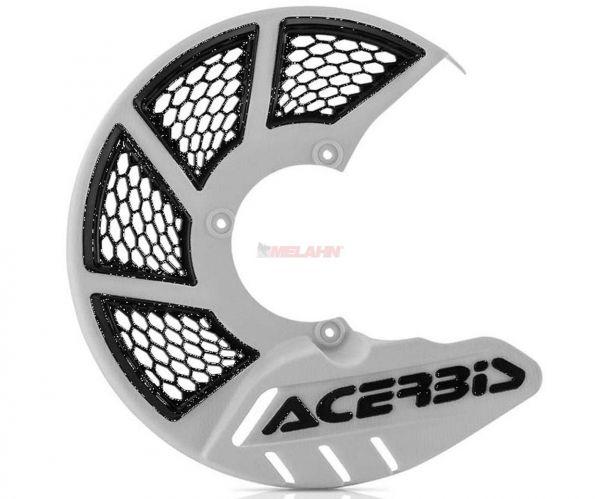 ACERBIS Kunststoff-Bremsscheibenschutz vorne: X-Brake 2.0, weiß