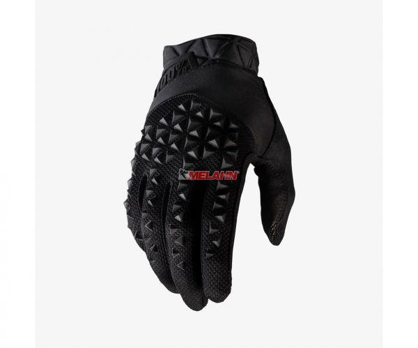 100% Handschuh: Geomatic, schwarz