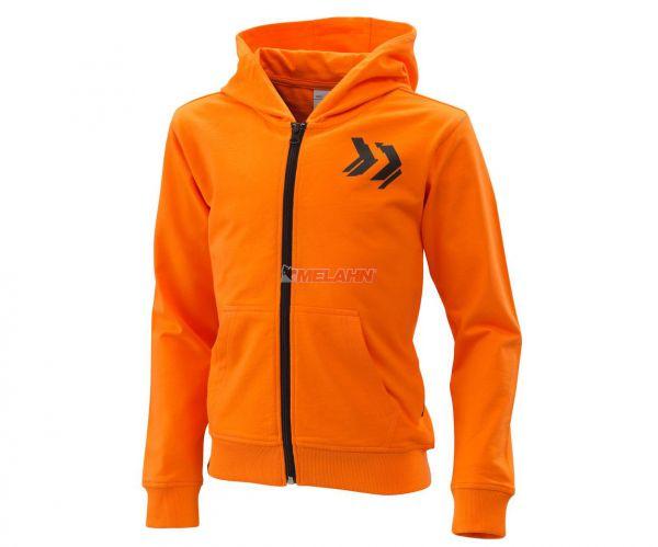 KTM Kids Zip-Hoody: Radical, orange