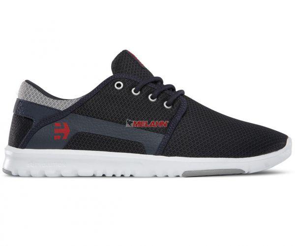 ETNIES Schuh: Scout, navy/grau/rot
